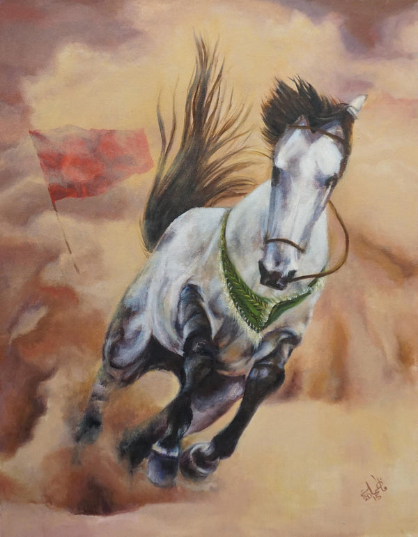 The horse with no rider - Dhuljanah, the Horse of Husayn ibn Ali