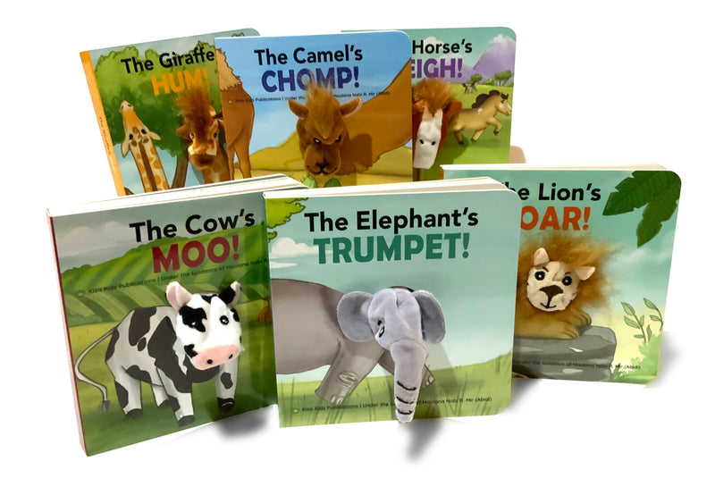 Animals Pray, Too - A Collection of 6 Puppet Board Books (Suggested Ages 2-5)
