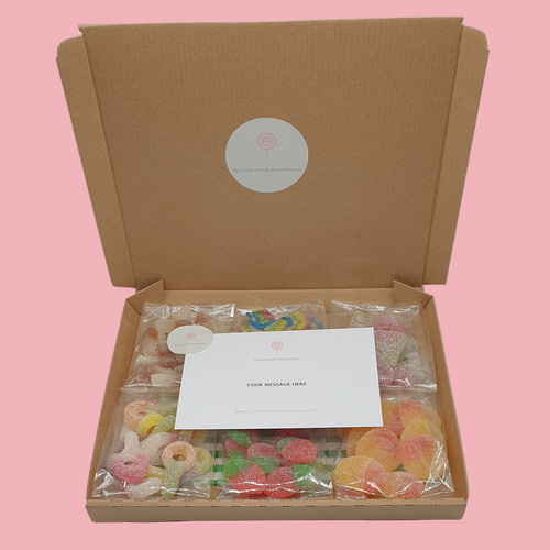 pick your own letterbox sweets gift box