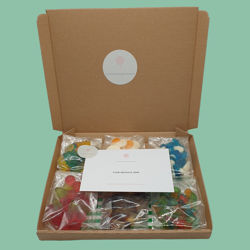 Personalised pick and mix gift box - gummy sweets in a box