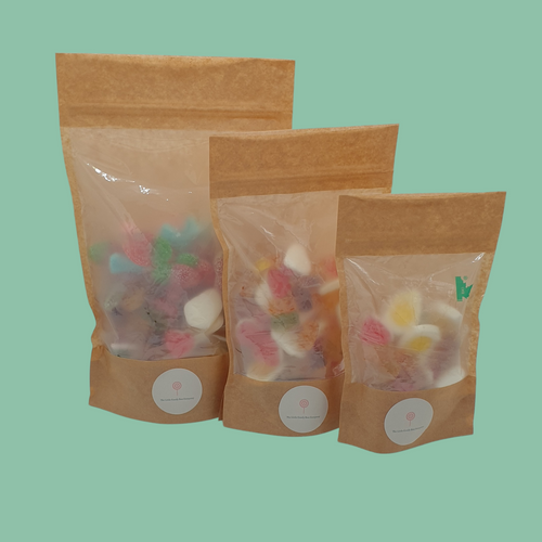 vegan sweets - vegan sweet pouches - the little candy box company