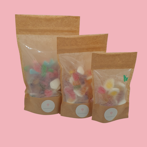 pick and mix sweets - pick n mix pouch - the little candy box company