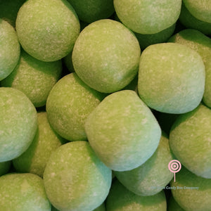 Green apple pick and mix bonbons sweets