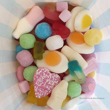 Load image into Gallery viewer, custom pick n mix sweets in candy stripe bag - gluten free candy