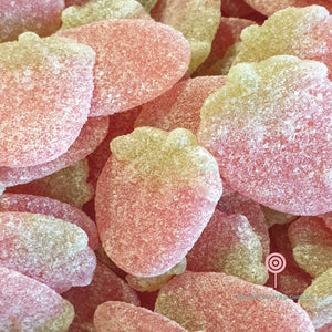 Fizzy strawberry sweets - strawberry candy
