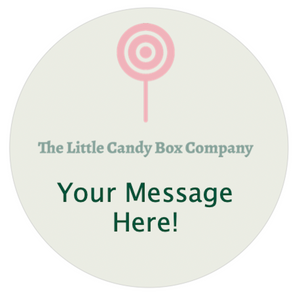 Personalised sticker - personalised gifts - personalised pick and mix