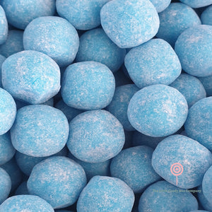Collection of blue raspberry bonbons