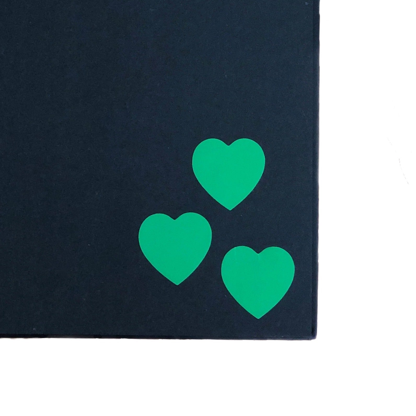 Green Heart Stickers