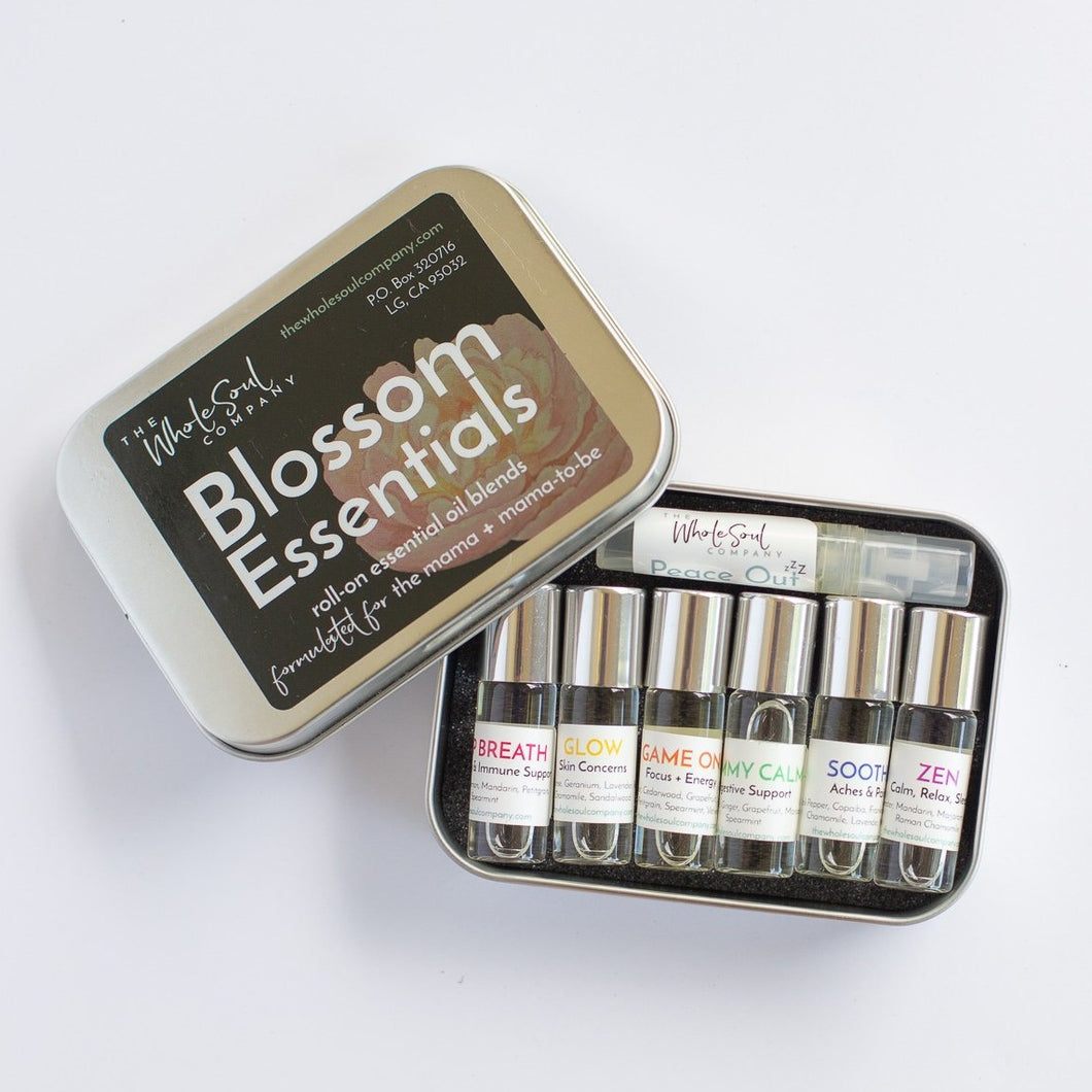 blossom essentials - roll on essential oil blends