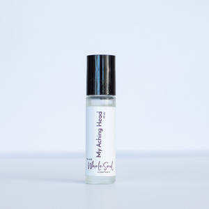 my aching head - essential oil rollerball
