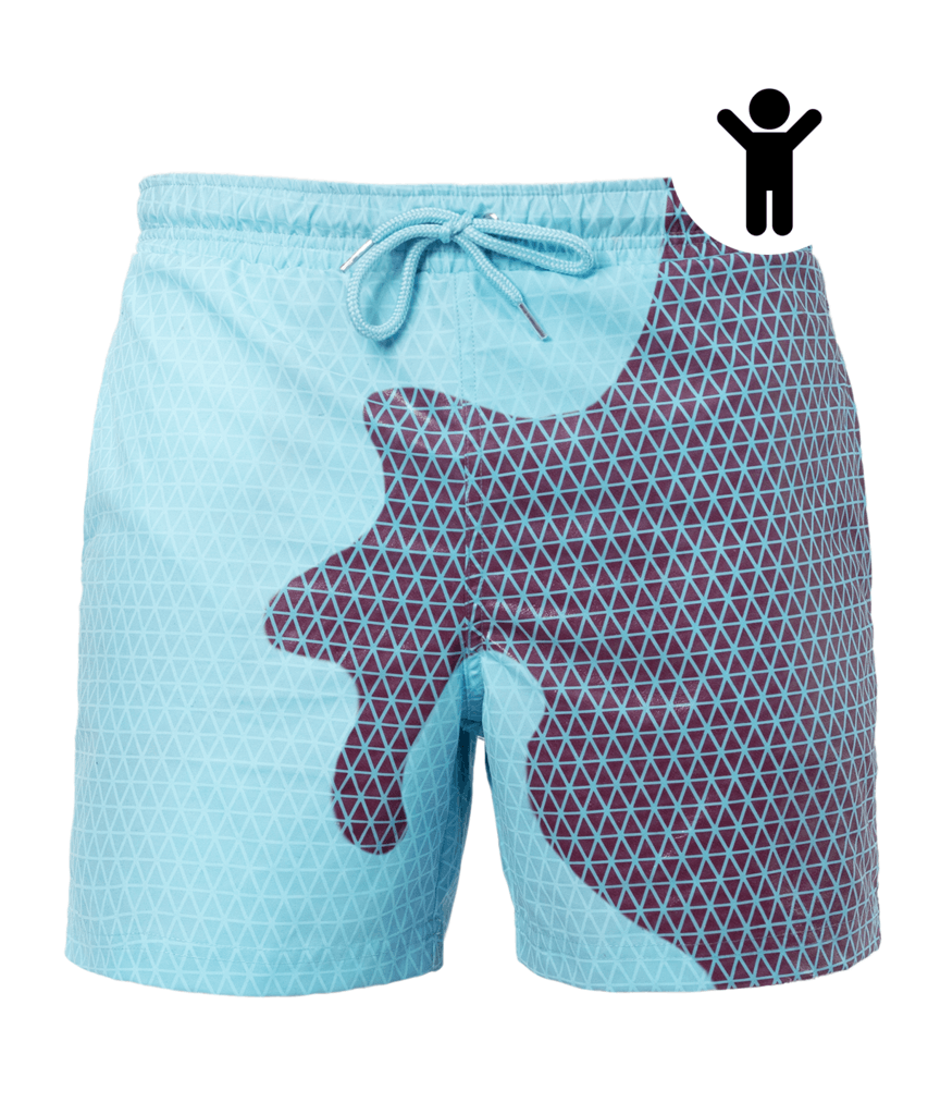 Kids | Bermuda Secret Vibes Cherry-Blue