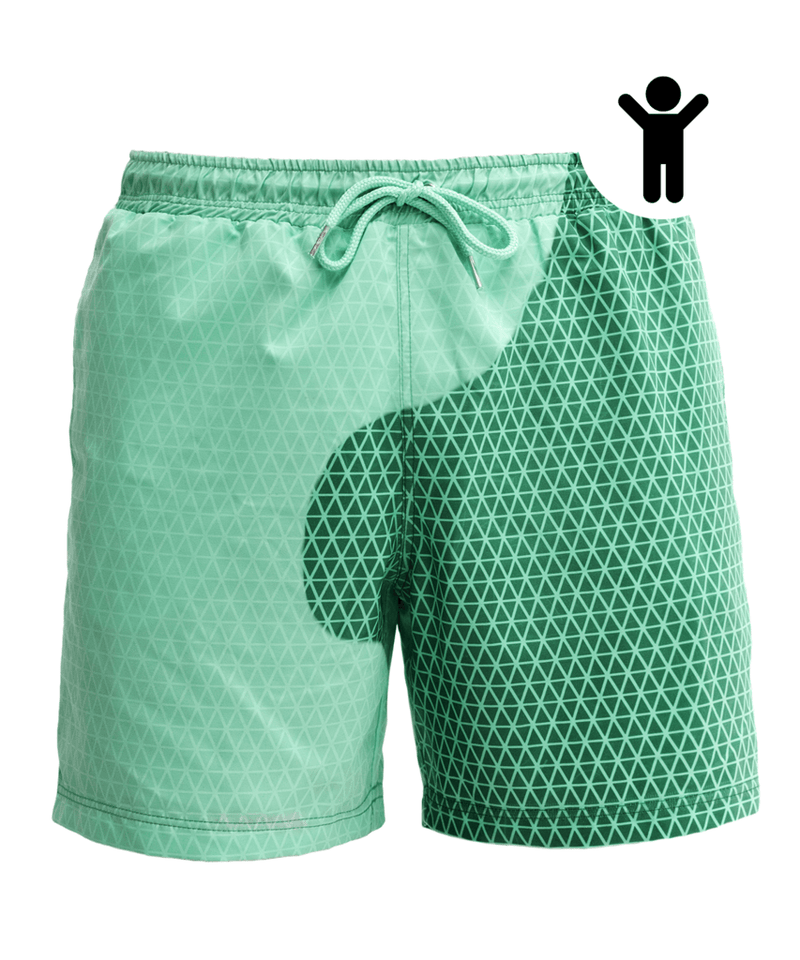 Kids | Bermudas Secret Deep Green - Mint