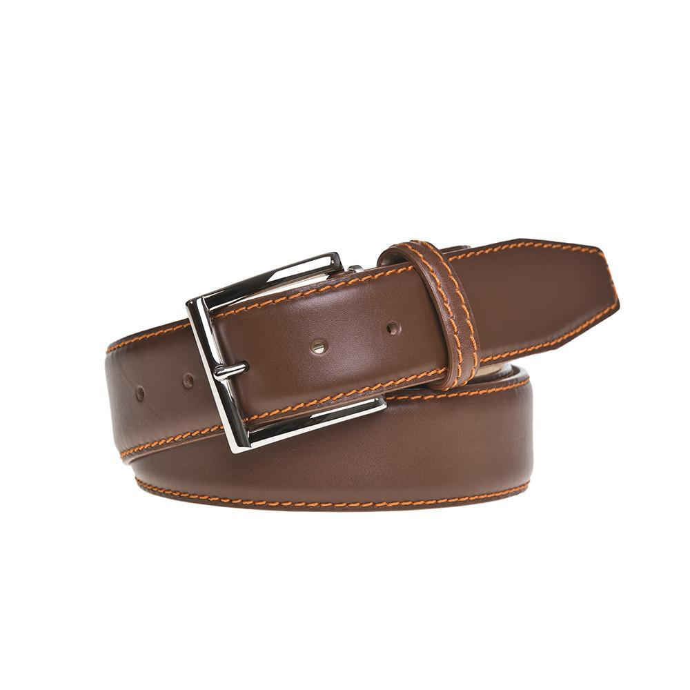 Superior Italian Smooth Calf Leather Belt