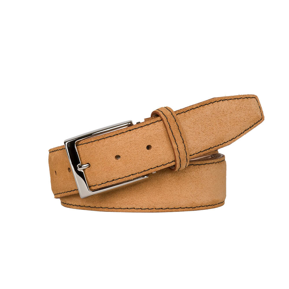 Toast Suede Leather Belt