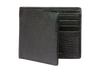 Black Pebble Grain Leather Wallet - Black / One Size / Black | Mens Fashion & Leather Goods by Roger Ximenez