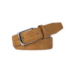 Caramel Italian Calf Belt - Gray / 44 / 35mm | Mens Fashion & Leather Goods by Roger Ximenez