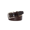 Maroon Vintage Misterioso Belt - 44 / 40mm / Brown | Mens Fashion & Leather Goods by Roger Ximenez