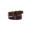 Maroon Vintage Misterioso Belt - 44 / 40mm / Orange | Mens Fashion & Leather Goods by Roger Ximenez