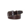 Maroon Vintage Misterioso Belt - 44 / 40mm / Tan | Mens Fashion & Leather Goods by Roger Ximenez