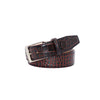Maroon Vintage Misterioso Belt - 44 / 40mm / Navy | Mens Fashion & Leather Goods by Roger Ximenez