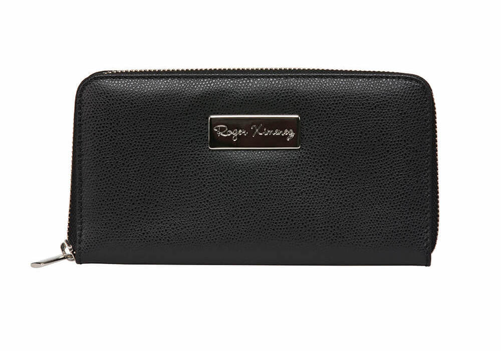 Black Limited Edition Women's Leather Wallet - RogerXimenez.com
