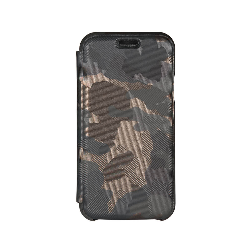 Camo iPhone Xs Leather Case - Men's Designer Belts - RogerXimenez.com