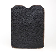 Black Italian iPad Leather Sleeve