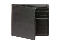 Black Nappa Calf Leather Wallet