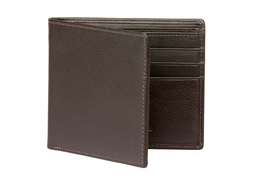 Brown Nappa Calf Leather Wallet - RogerXimenez.com