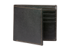 Black Saffiano Leather Wallet - Cognac / One Size / Black | Mens Fashion & Leather Goods by Roger Ximenez