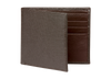Brown Saffiano Leather Wallet - Brown / One Size / Brown | Mens Fashion & Leather Goods by Roger Ximenez