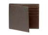 Brown Saffiano Leather Wallet - Cognac / One Size / Brown | Mens Fashion & Leather Goods by Roger Ximenez