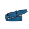 Sky Blue Smooth Italian Calf Leather Belt - [variant_title] | Mens Fashion & Leather Goods by Roger Ximenez
