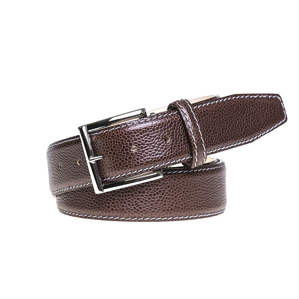 Fine french calf leather belts