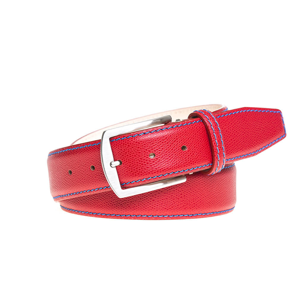 Special Edition Red Roman Belt - RogerXimenez.com