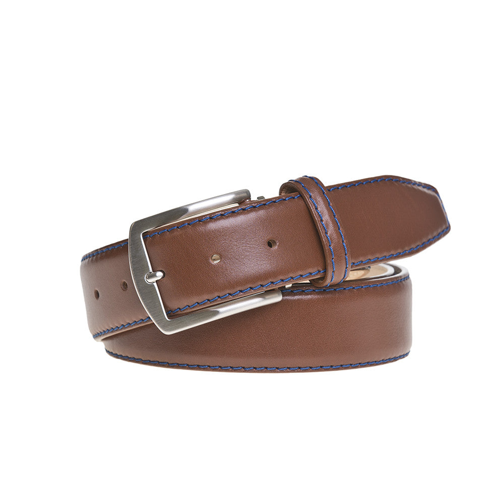 Turtan French Calf Leather Belt - RogerXimenez.com