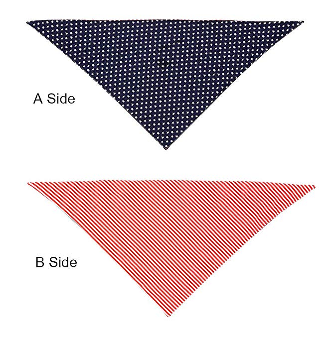 Triangle Reversible 2 Different Pattern for Large or Small Dogs & Cats