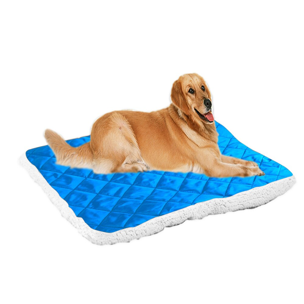 Plush Pet Blanket Soft Comfortable Warm Dog Bed