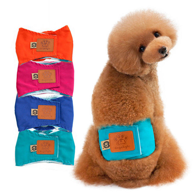 Quality Male Pet dog Physiological Pants Boy Puppy