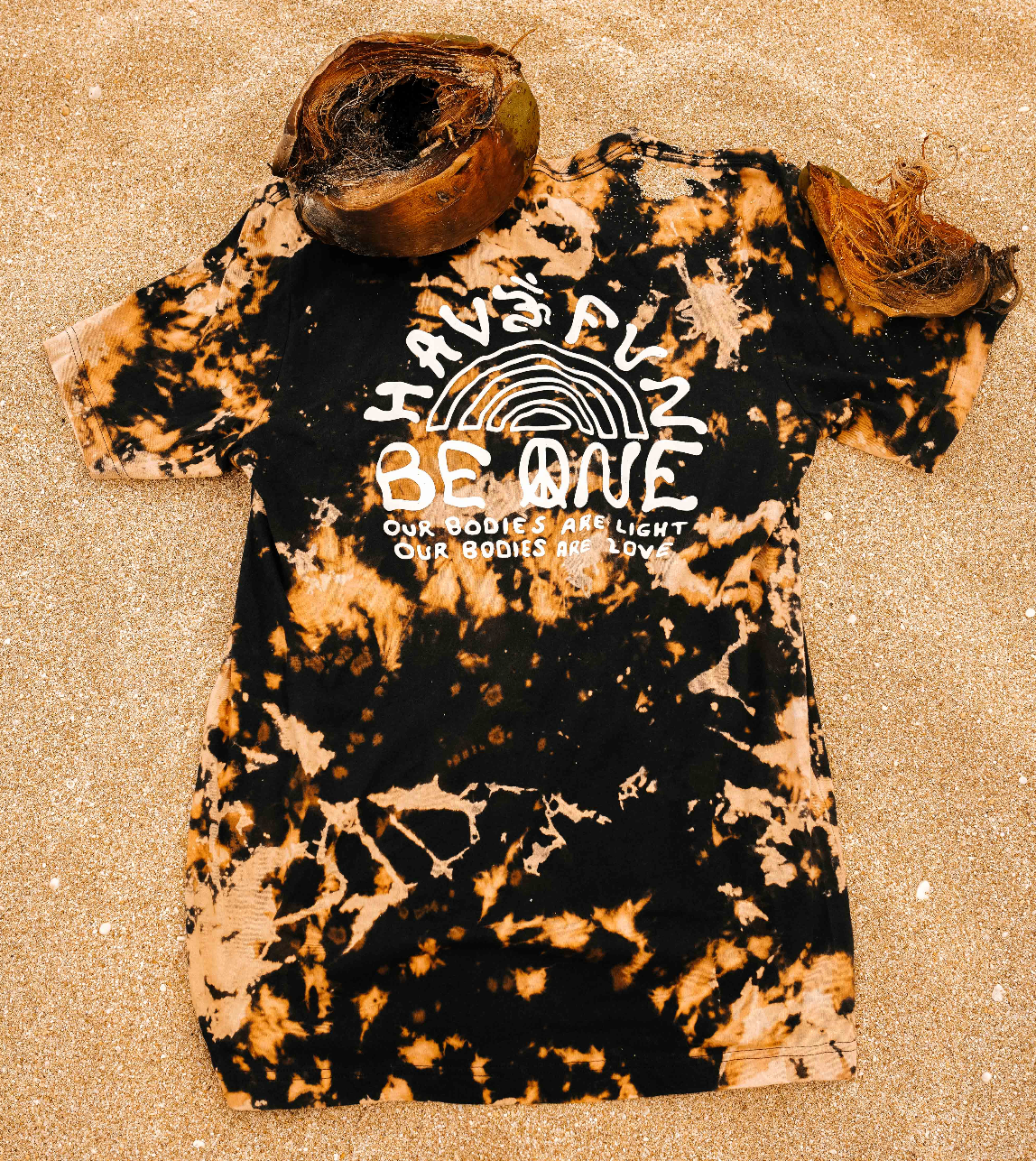 The Mantra Tee - Bleach Dye