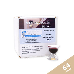 Concord Grape Juice - Small Group Home Communion Case