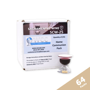Sacramental Wine - Small Group Home Communion Case