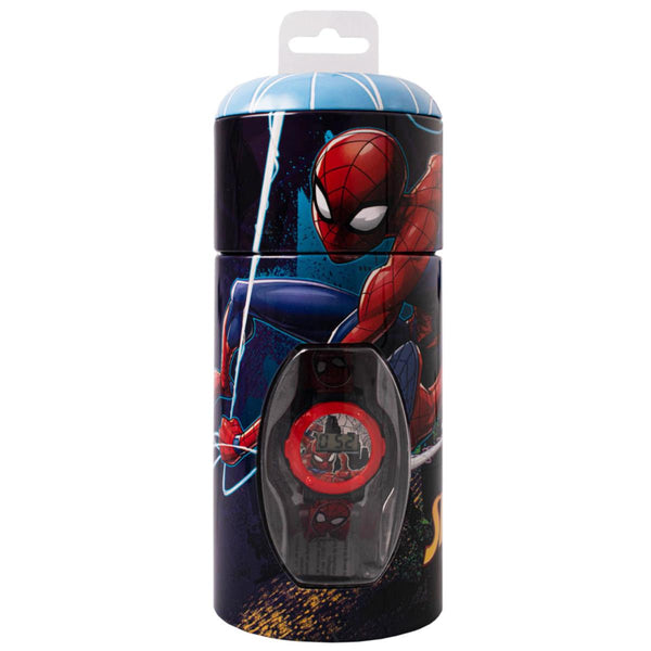 Spiderman Watch in a Tin Set