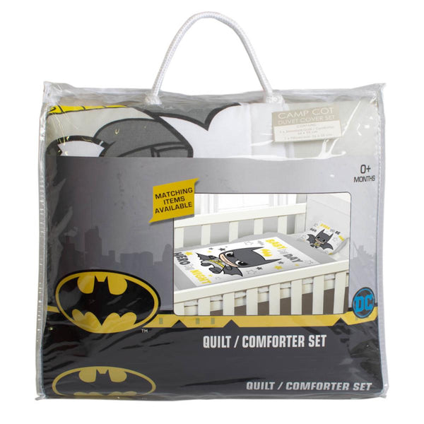 Batman Baby Comforter Set