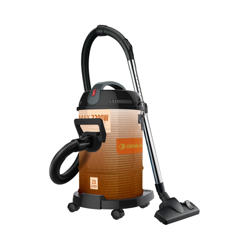 Drum Vacuum	Dry Only	2200W Max 23L