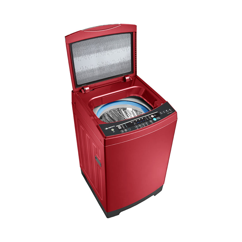 Top Loading Washing Machine One Touch Smart Control, 17.5Kg, Red