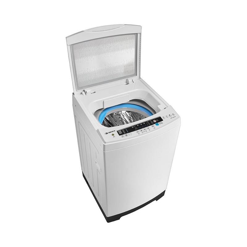 Top Loading Washing Machine One Touch Smart Control, 17.5Kg, White
