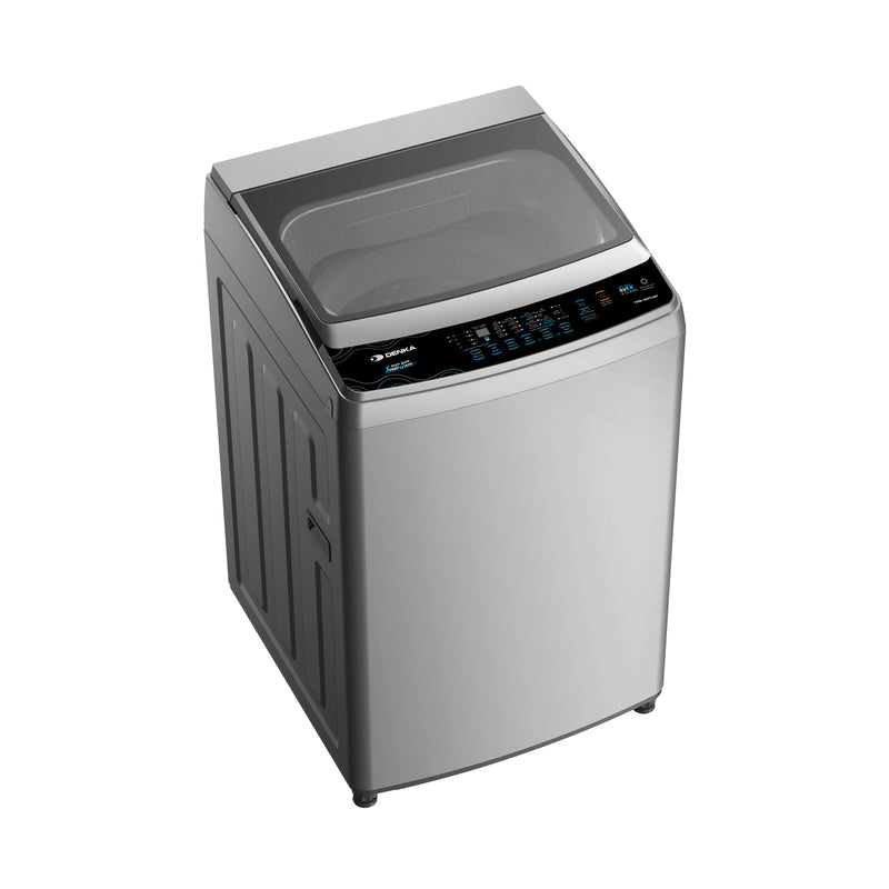 Top Loading Washing Machine One Touch Smart Control, 10Kg, Silver