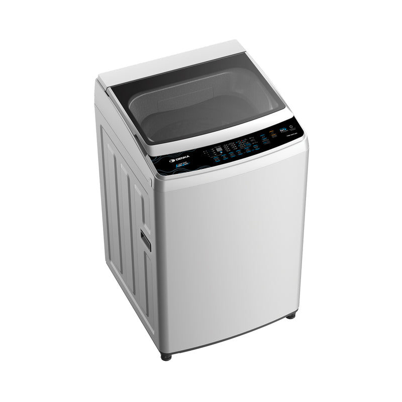 Top Loading Washing Machine One Touch Wash, 15Kg, White