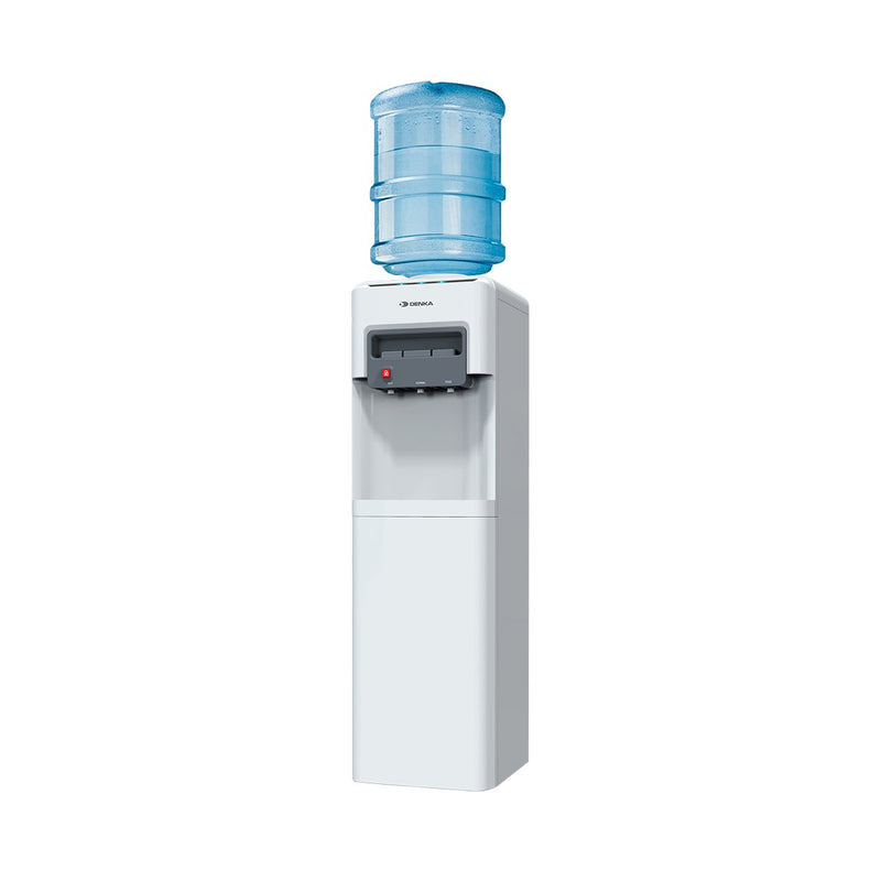 Free Standing Water Dispenser Top Loading With Fridge